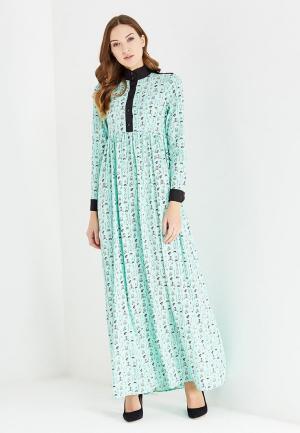 Платье Sahera Rahmani. Цвет: мятный