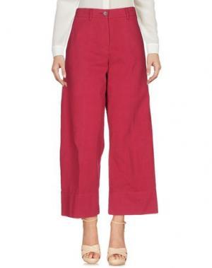 Повседневные брюки QL2 QUELLEDUE. Цвет: пурпурный