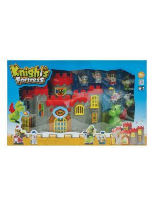 Игровой  набор Рыцарская крепость Keenway. Цвет: серый, красный