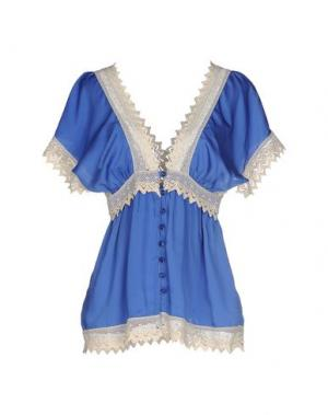 Блузка J' AIME LES GARÇONS. Цвет: синий
