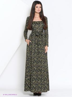 Платье Fashion.Love.Story.. Цвет: зеленый