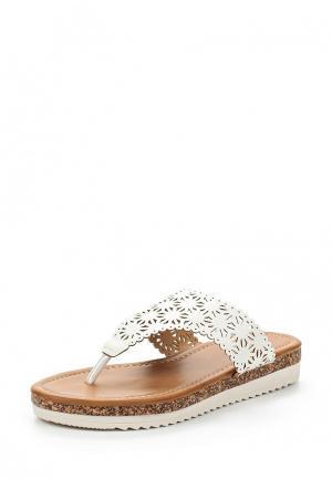 Шлепанцы Sweet Shoes. Цвет: белый