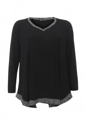 Пуловер Fiorella Rubino. Цвет: черный