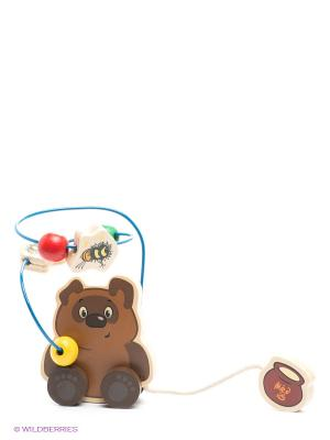 Логическая игра Винни-Пух Happy Well. Цвет: коричневый