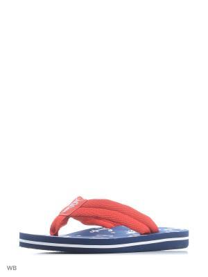 Шлепанцы S.OLIVER. Цвет: красный
