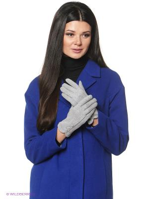Перчатки женские Sabellino. Цвет: светло-серый