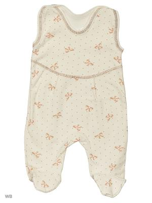 Ползунки Babycollection. Цвет: молочный