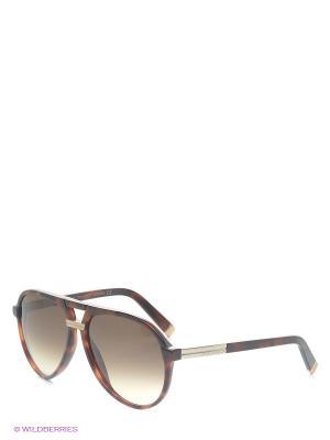 Солнцезащитные очки DQ 0070 52F Dsquared. Цвет: коричневый