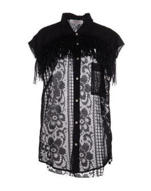 Pубашка JUCCA. Цвет: черный