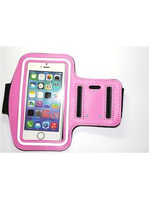 Чехол для Iphone 6/ 6S с креплением на руку Punta. Цвет: розовый