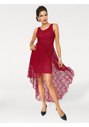 Платье Ashley Brooke. Цвет: красный