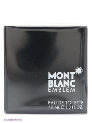 Туалетная вода, EMBLEM FOR MEN, 40 мл Montblanc. Цвет: черный