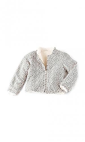 Двухсторонняя куртка IKKS Paris. Цвет: розовый