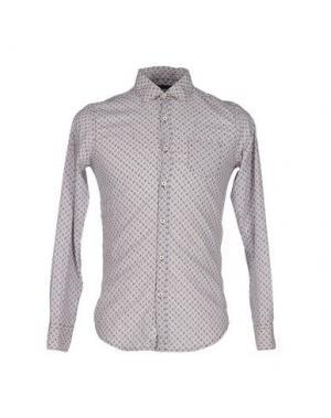 Pубашка MESSAGERIE. Цвет: светло-серый