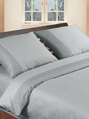 Комплект постельного белья Jardin. Цвет: серый