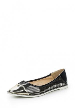 Туфли Ideal Shoes. Цвет: золотой