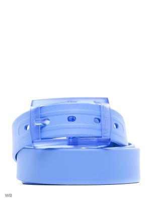Ремень MERCEDES-BENZ. Цвет: голубой