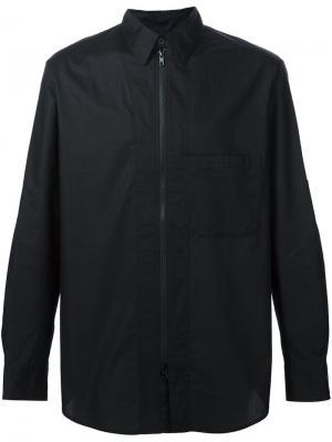 Рубашка на молнии Y-3. Цвет: чёрный