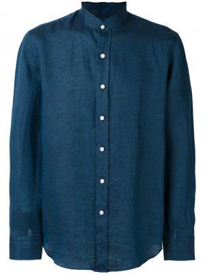 Plain shirt Salvatore Piccolo. Цвет: синий