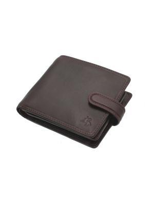 Бумажник Arezzo Visconti. Цвет: коричневый
