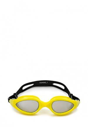 Очки для плавания Joss. Цвет: желтый