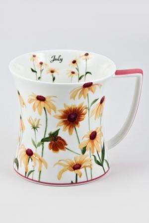 Кружка 450 мл Royal Porcelain. Цвет: белый, желтый