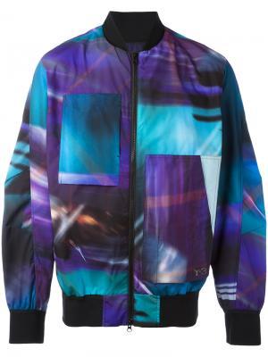 Куртка-бомбер AOP Y-3. Цвет: многоцветный