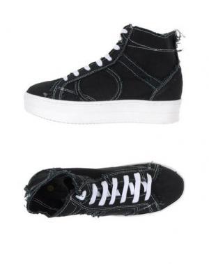 Высокие кеды и кроссовки PLAYHAT. Цвет: черный