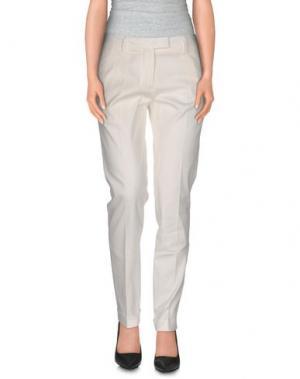 Повседневные брюки JEAN PAUL GAULTIER. Цвет: белый