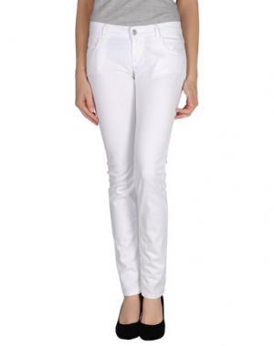 Повседневные брюки BONHEUR. Цвет: белый