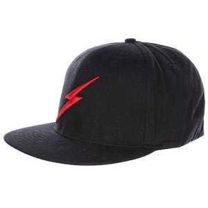 Бейсболка  Bold Ii Cap Black Lightning Bolt. Цвет: черный