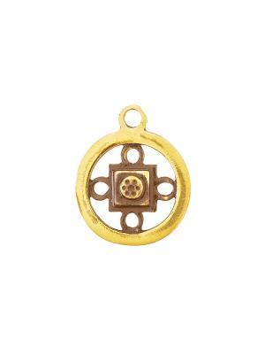 Амулет защитный Янтра Шамбала Aztek. Цвет: желтый