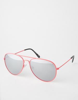 Trip Солнцезащитные очки-авиаторы с зеркальными линзами