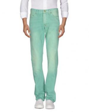 Джинсовые брюки PRPS. Цвет: светло-зеленый