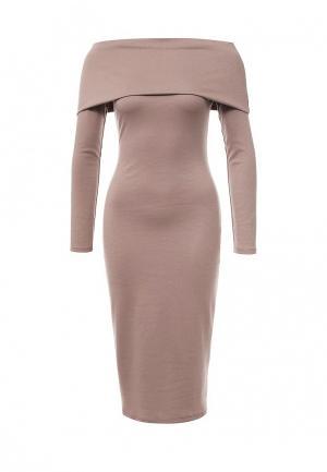 Платье Vittoria Vicci. Цвет: коричневый