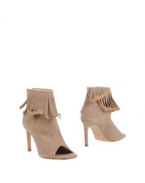 Полусапоги и высокие ботинки GUGLIELMO ROTTA. Цвет: бежевый