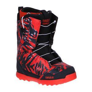 Ботинки для сноуборда  Lashed Ft Tie Dye Thirty Two. Цвет: черный,красный