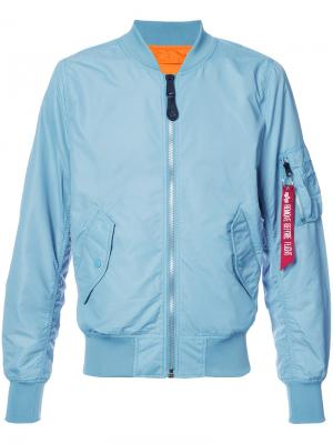 Куртка L-28 Scout Alpha Industries. Цвет: синий
