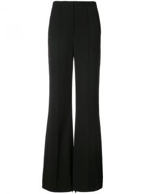 Классические расклешенные брюки Dvf Diane Von Furstenberg. Цвет: чёрный