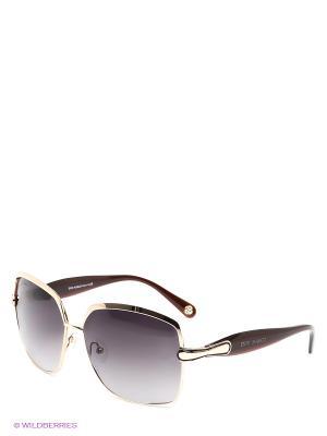 Солнцезащитные очки IS 11-21007 Enni Marco. Цвет: золотистый, темно-бордовый