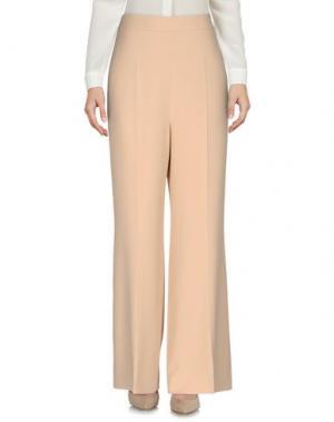 Повседневные брюки SPORTMAX. Цвет: песочный