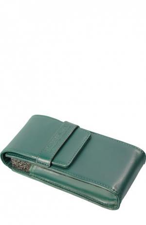 Футляр для одеколона, зеленый Truefitt&Hill. Цвет: бесцветный