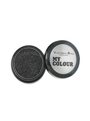 Тени для век My colour, тон №524 Victoria Shu. Цвет: антрацитовый