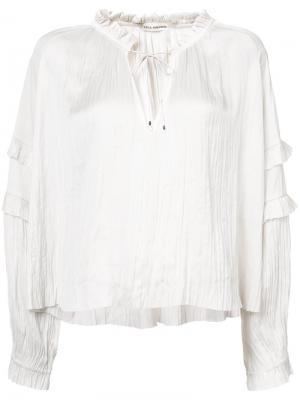 Carolina blouse Ulla Johnson. Цвет: белый