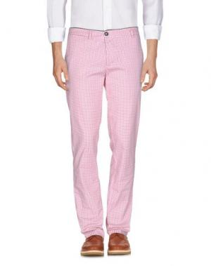 Повседневные брюки RRD. Цвет: белый