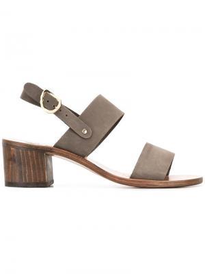 Босоножки Lefki Ancient Greek Sandals. Цвет: серый