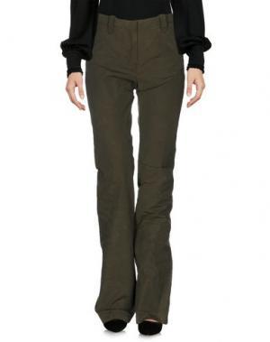 Повседневные брюки ALTUZARRA. Цвет: зеленый-милитари