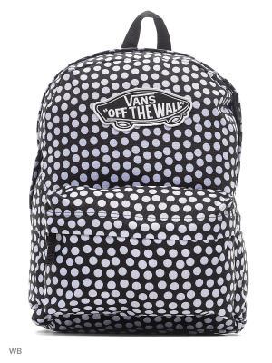 Рюкзак REALM VANS. Цвет: черный, белый