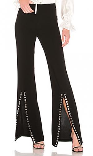 Широкие брюки viera Cinq a Sept. Цвет: черный