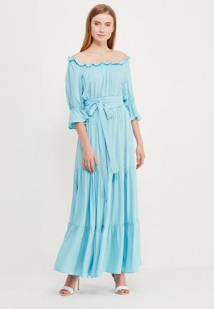 Платье Fashion.Love.Story. Цвет: голубой